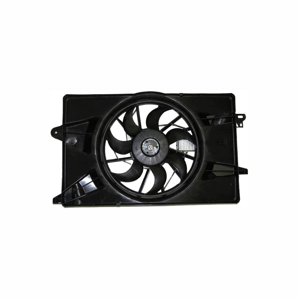 Tyc Dual Radiator And Condenser Fan Assembly 2013 2016 Dodge Dart 2 4l 1 4l Dodge Dart Radiator Fan Radiators