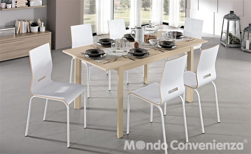 Tavolo e sedia Fly - Mondo Convenienza   Home kitchen   Pinterest ...