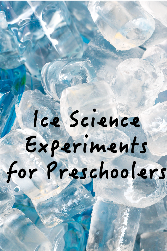 Help Preschoolers Understand How Ice Can Be Used in Science Experiments #scienceexperimentsforpreschoolers 2 science experiments using ice that will help kids get excited about science #scienceexperimentsforpreschoolers