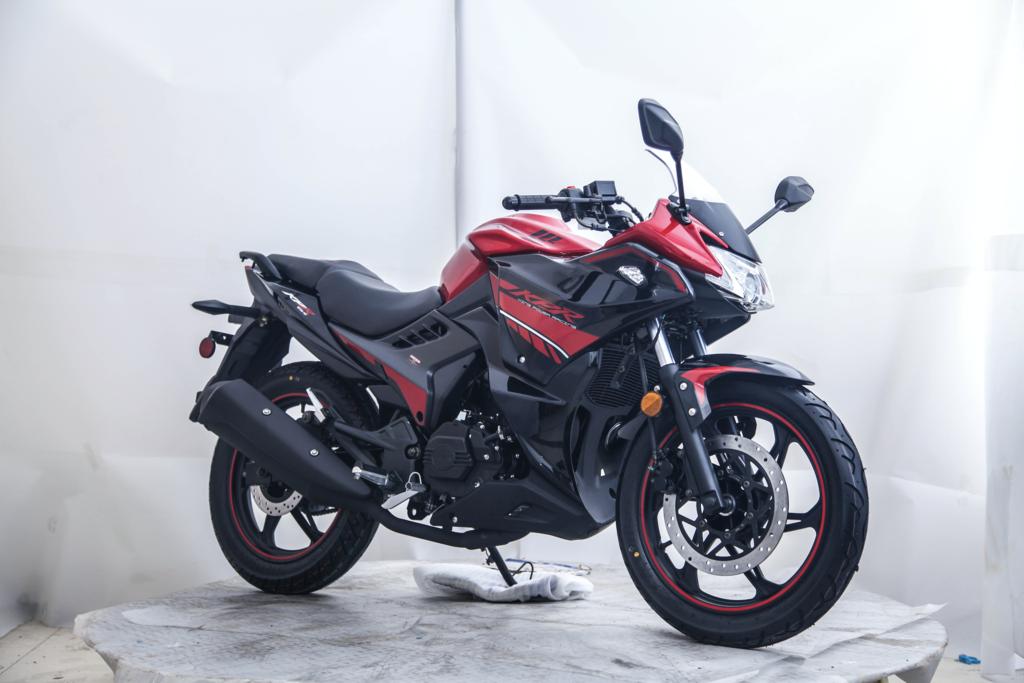 Venom Kpr 200 Lifan Fuel Injected Motorcycle Lf200 10s Fuel