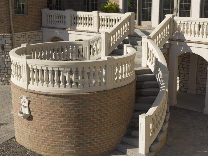 Best Pin By Jennifer Harris On Stairs Fiberglass Columns 400 x 300