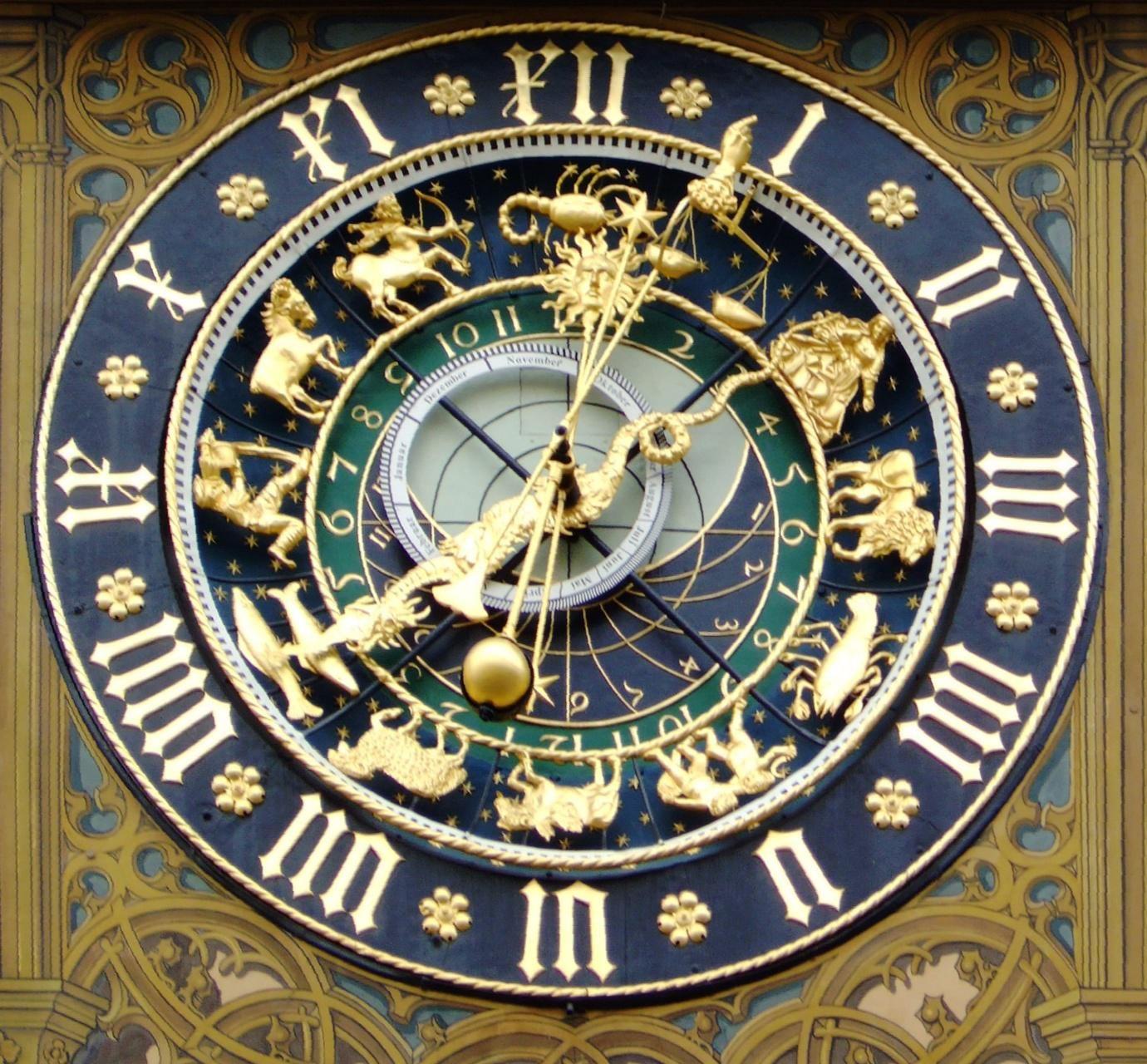 horloge lunaire