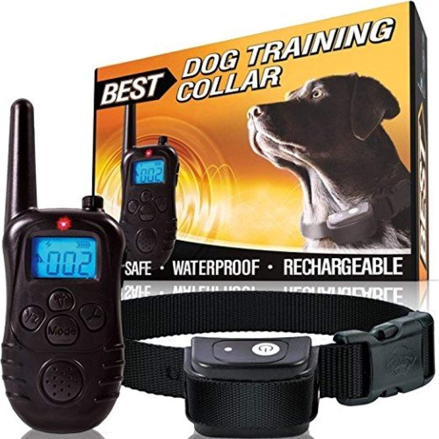 Best Low Voltage Weatherproof Pet Training Collar With Remote Lcd