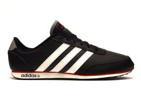 adidas / nero / bianco / rosso corsa adidas corridori.