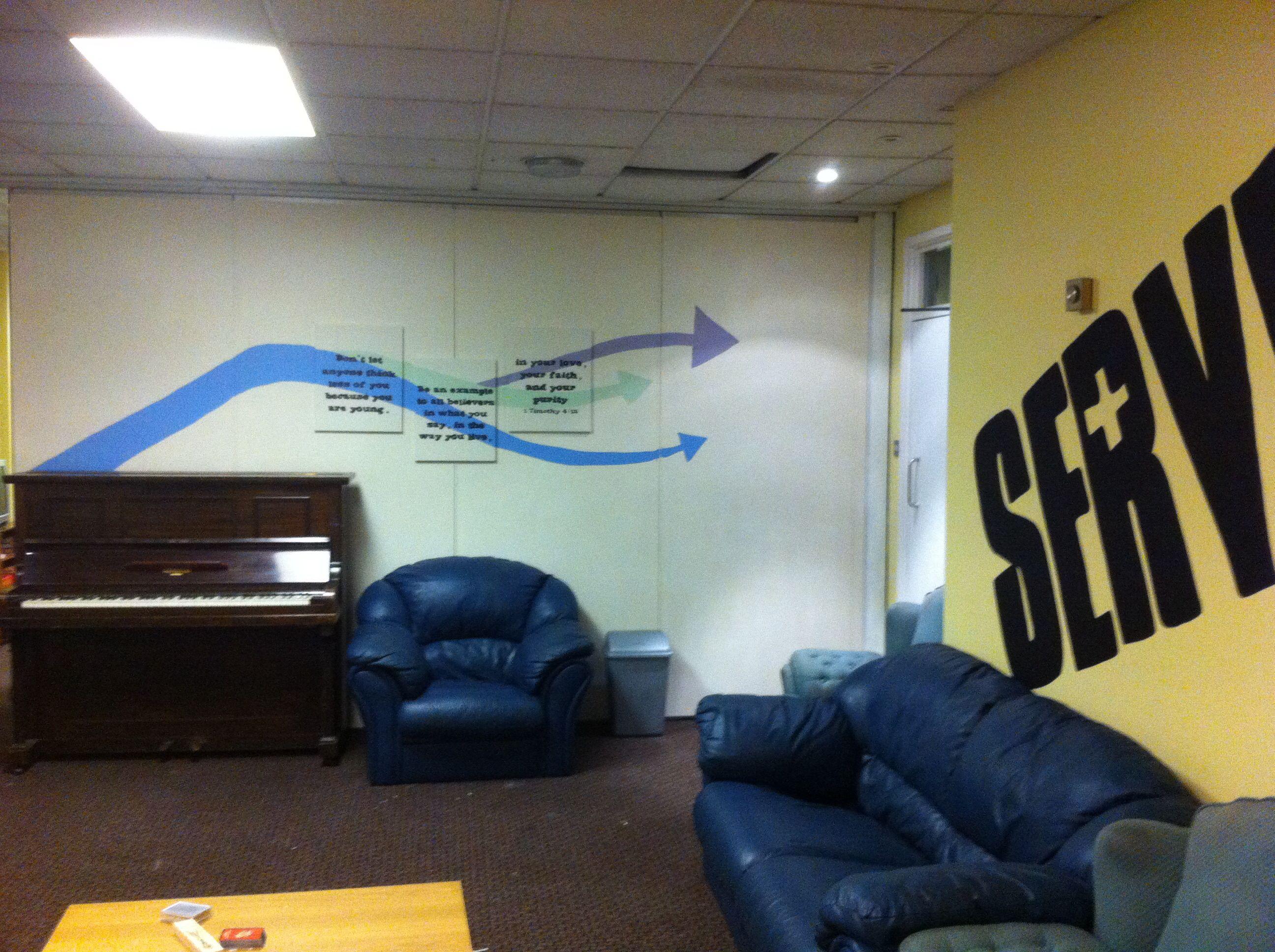 Church Youth Room Cheap Easy Idea Decoration Youth Room Youth Group Rooms Church Decor