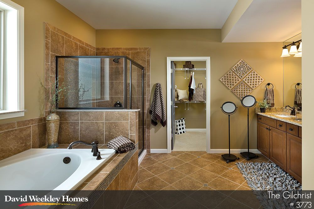Relax After A Long Day In This Beautiful Owner S Bath In The Gilchrist Model Atlanta Ga Model Homes Bathroom Design Master Bath Remodel