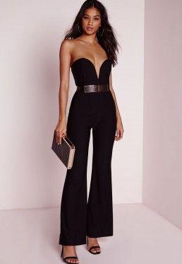 011094e9a1 Sweetheart Bandeau Jumpsuit Black. Sweetheart Bandeau Jumpsuit Black Clothes  For Sale, Cheap ...