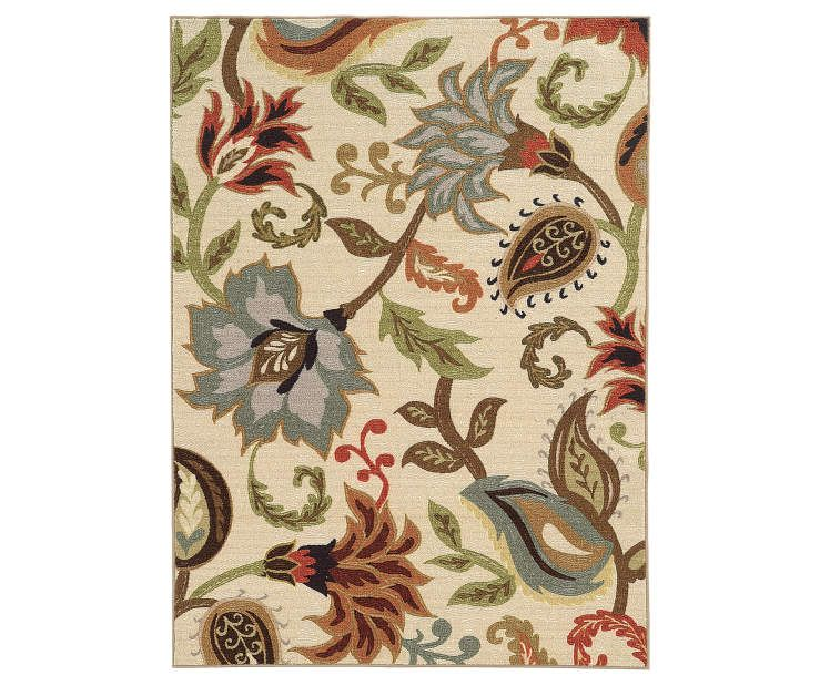 Dalewood Ivory Rugs Floral Area Rugs Floral Rug Area Rugs