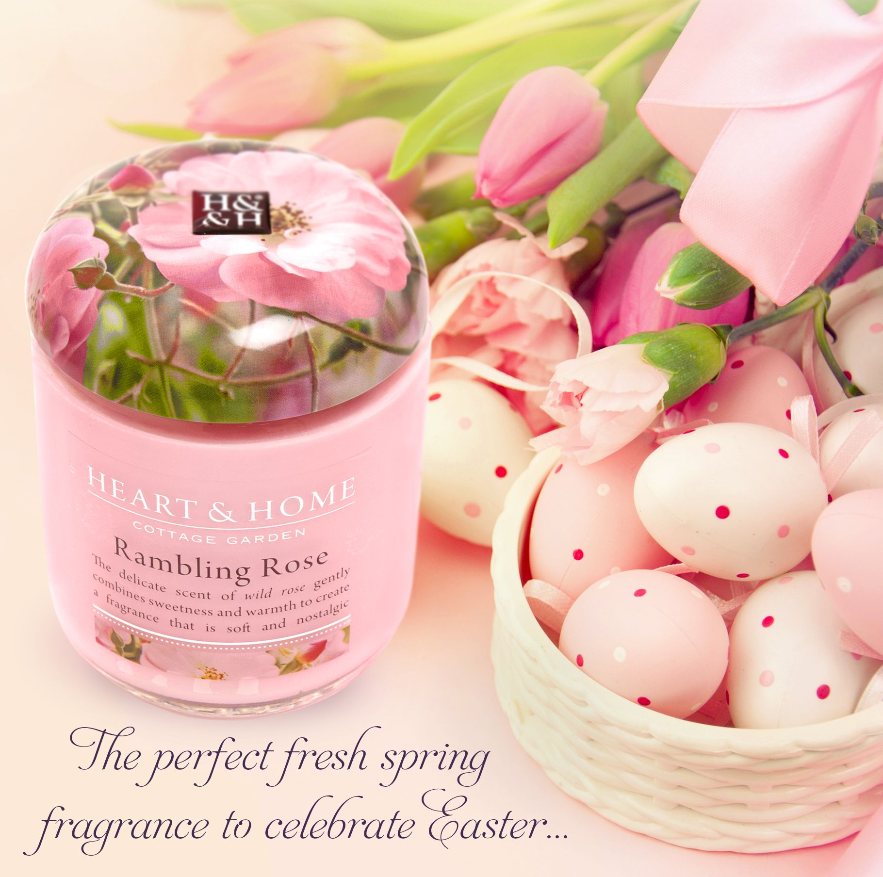 The Perfect Fragrance To Step Into Spring And Easter Heart Home Home Fragrances Candles Votives Home Decor