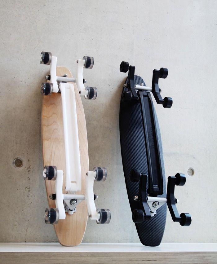 Skateboard Uses: New Skateboard Concept Uses 8 Wheels To Take On Stairs