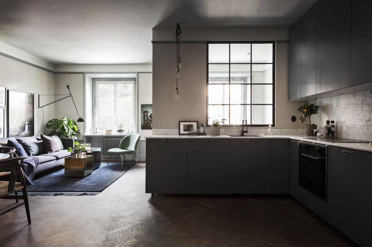 Apartment Kitchen Tumblr http://gravityhome.tumblr/post/145502299947/small-and-dark