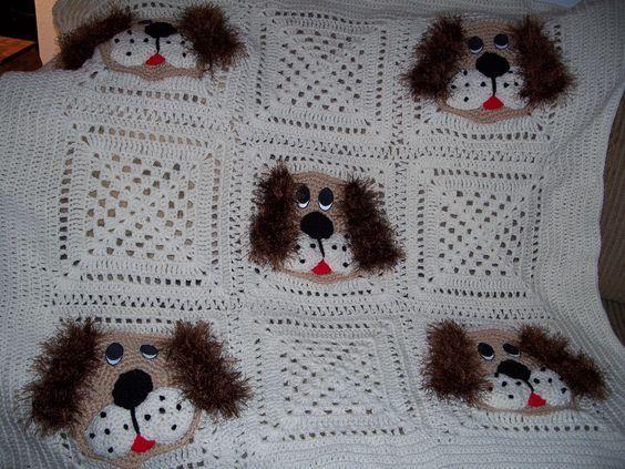 Crochet Hearts Afghan Crochet Pattern   Red Heart