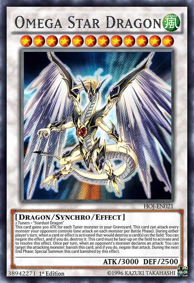 Double tuning stardust dragon artwork belongs to card