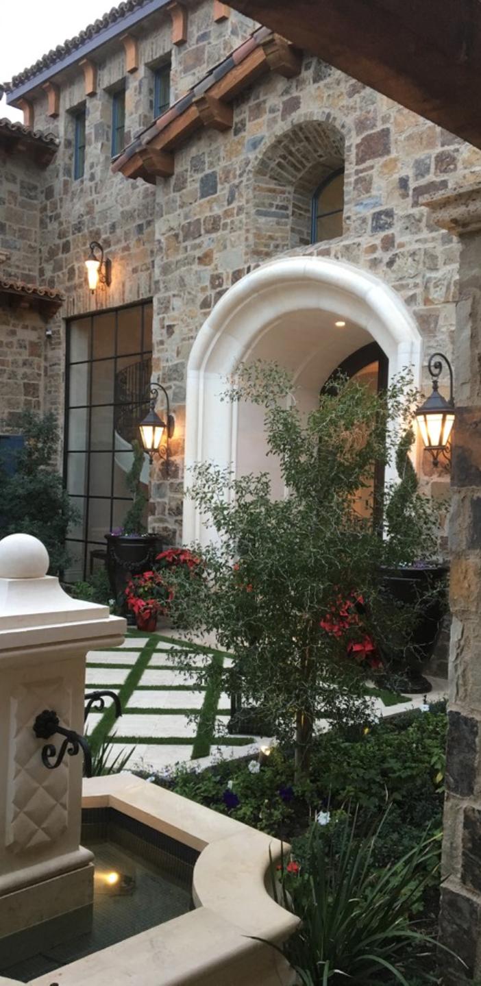 Courtyard This Is Beautiful Toskana Häuser