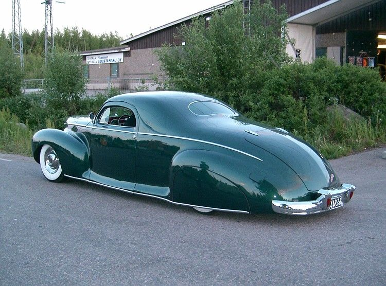 Timo Hersti S 1941 Lincoln Zephyr Rear 3 4 Taildraggers