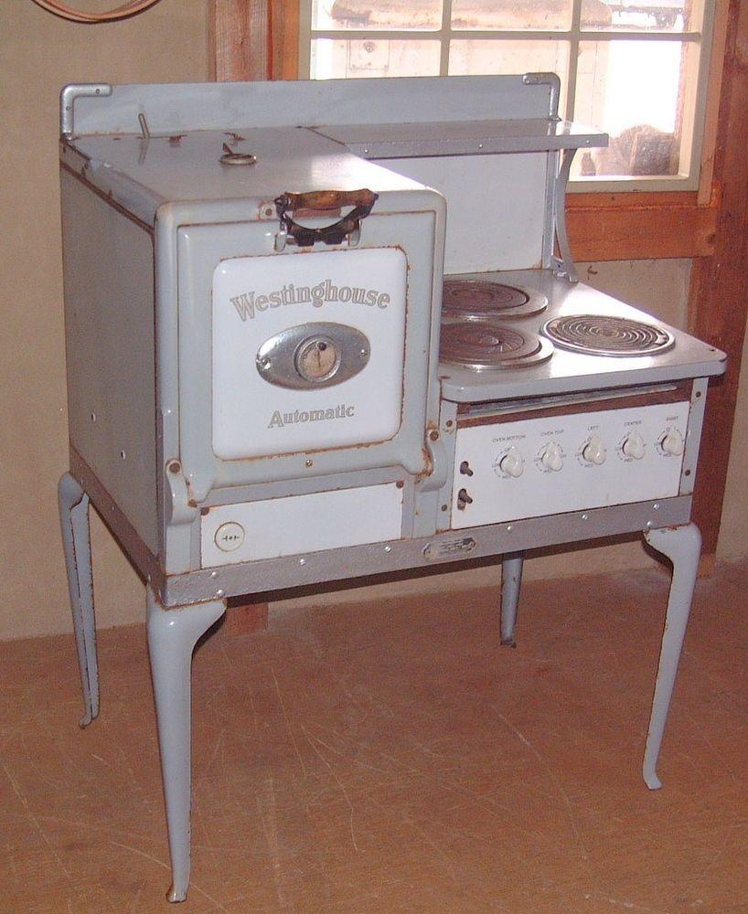Vintage Original Unrestored Westinghouse Junior Cabinet Electric