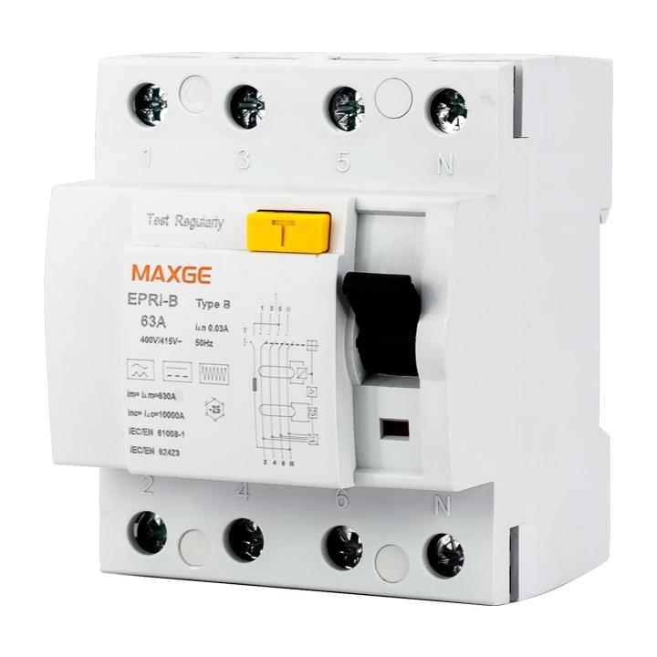 MAXGE EPRi-B RCCB Residual Current Circuit Breaker