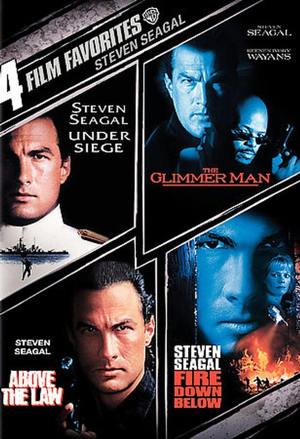 Steven Seagal: 4 Film ...