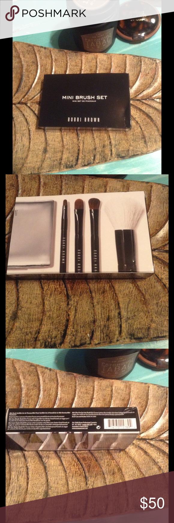 Bobbi brown elegant mini brush set !firm on price! nwt