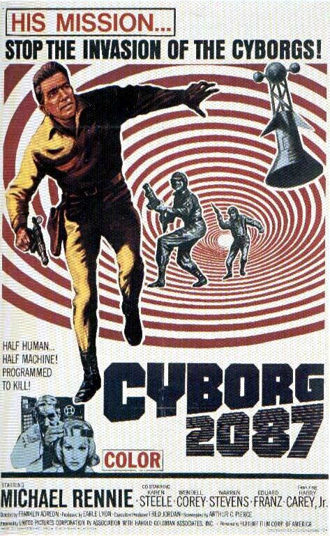 cyborg 2087 horror and trashy b movies pinterest