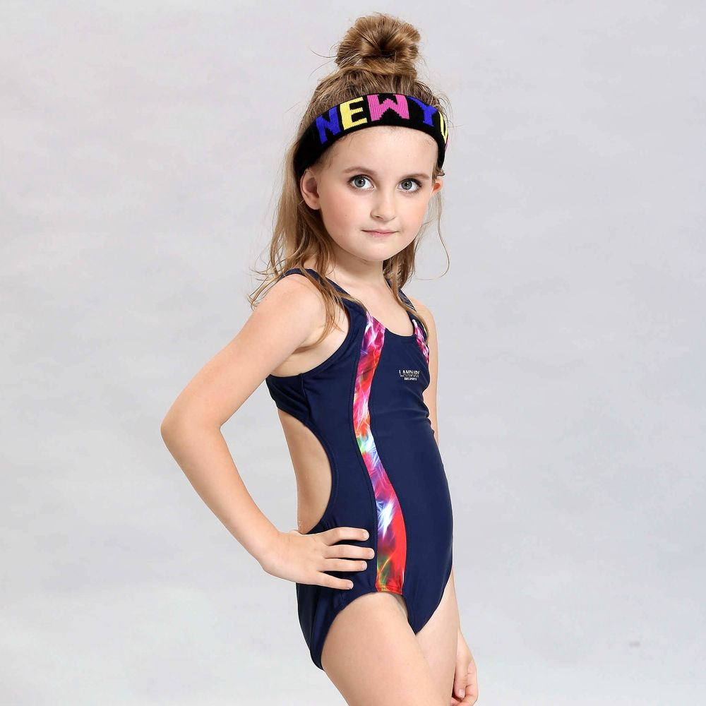 High Quality Children's Professional Racing Swimsuit Girls ...