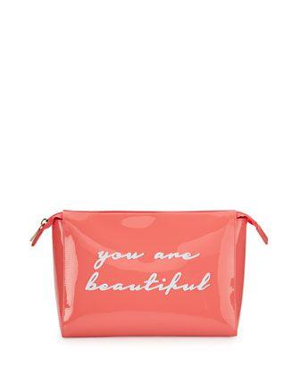 Lolo Bags Betty Small Cosmetics Bag, Watermelon   Small ...
