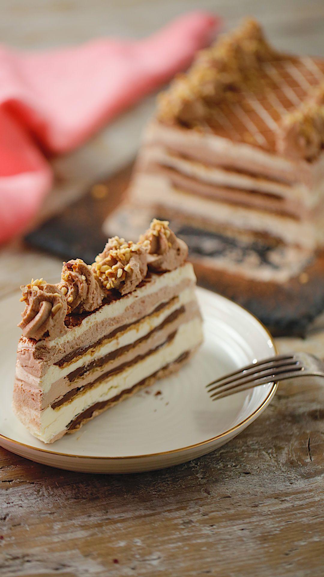 Nutella Ice Box Cake ~ Recipe