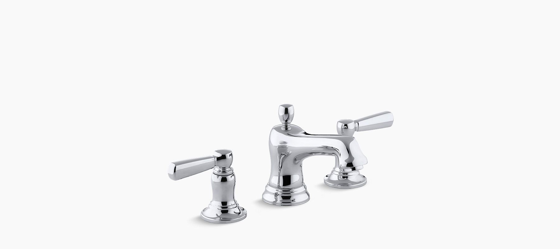 Add traditional elegance to your bathroom with the K-10577-4 sink ...