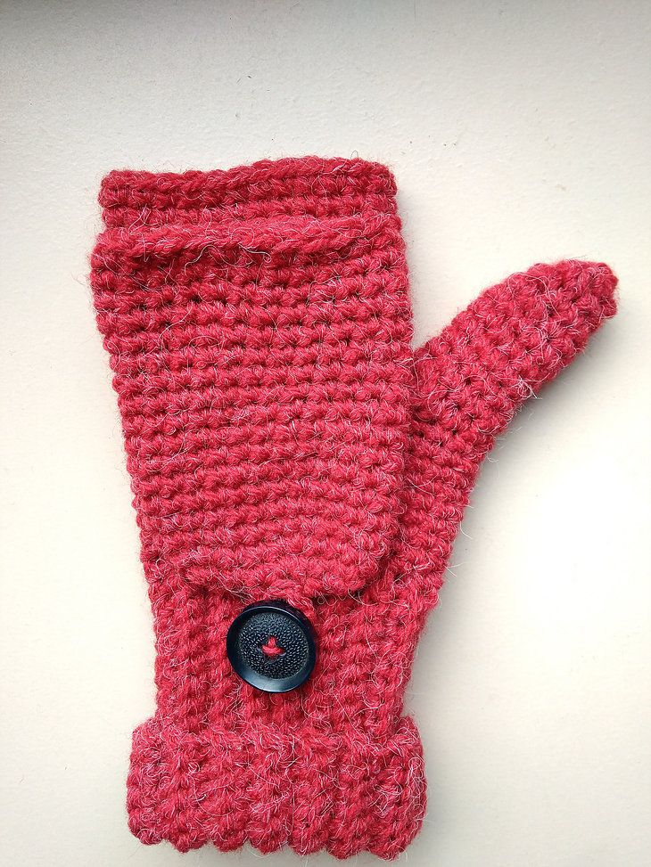 After long time I finally made pattern of fingerless convertible ...