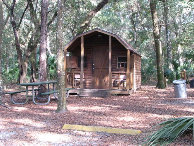 Merveilleux Cabin Fever? A List Of Florida Parks With Camping Cabins