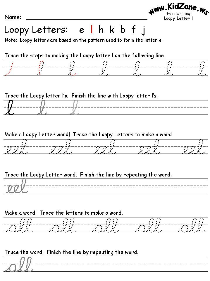 Cursive handwriting practice sheets | GENERAL - Homeschool | Pinterest