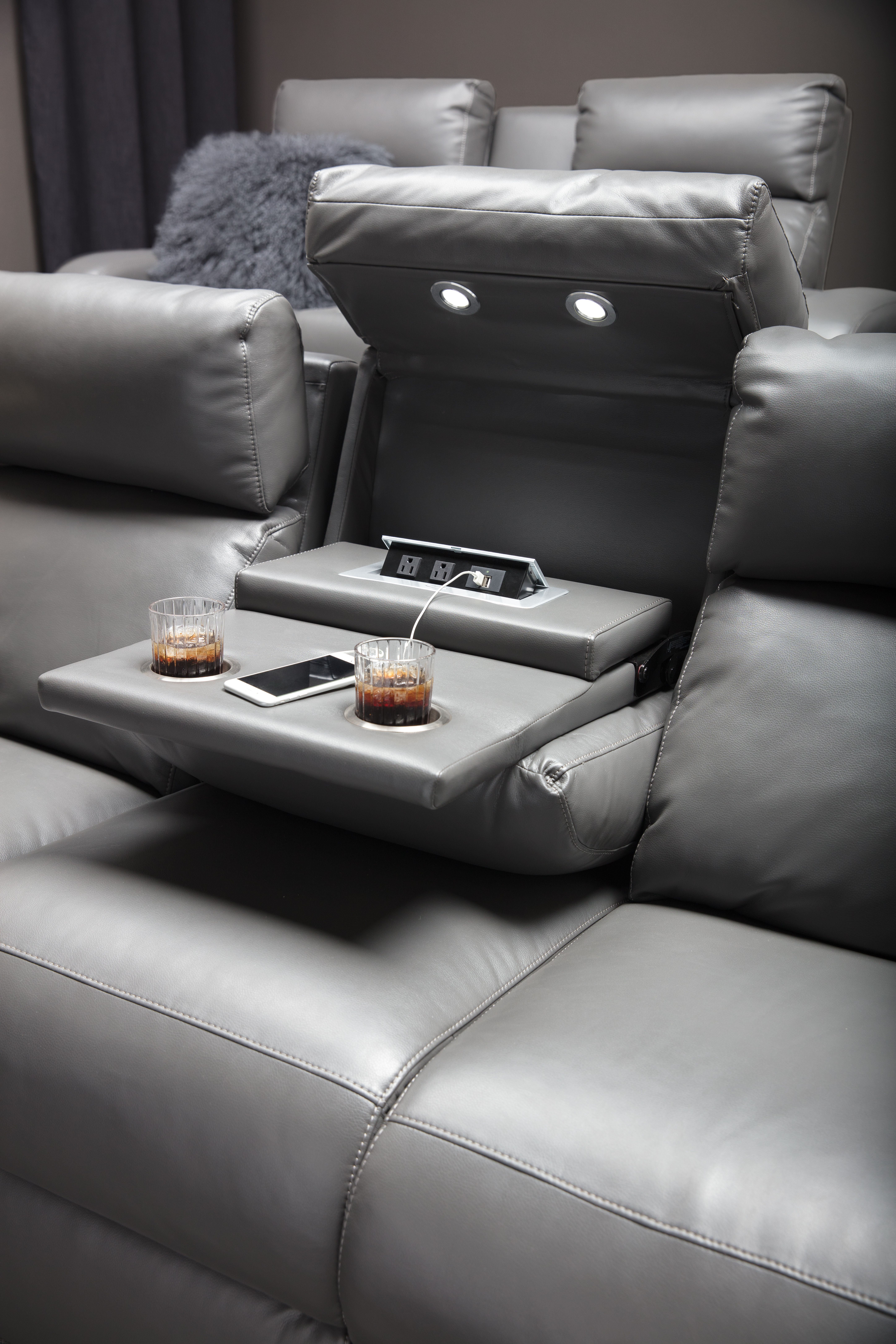 Home Theater Furniture Reclining Sofas Chairs And More With Hi