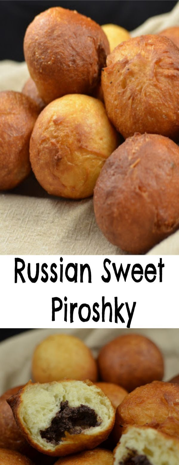 on the outside, sweet and fluffy on the inside. These piroshky are to die for.