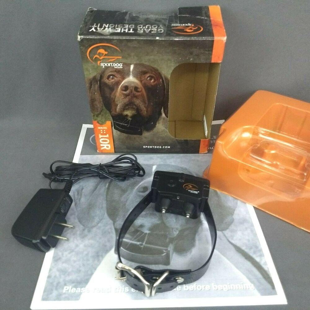 Sportdog No Bark Control Collar 10r Rechargeable Sport Dog