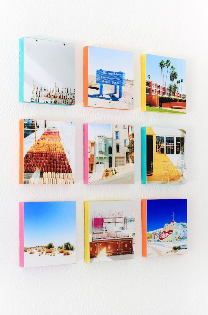 How To Turn Your Instagram Photos Into Wall Art The Crafted Life Diy Instagram Wall Diy Photo Projects Instagram Wall Art