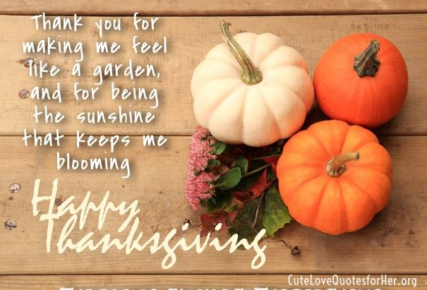 Thanksgiving Love Quotes For Him Thanksgiving Wishes Quotes 2018
