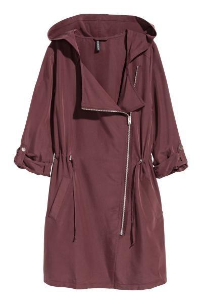 Milumia Womens Waterfall Collar Long Sleeve Hooded Drawstring Cardigan Jacket with Pocket
