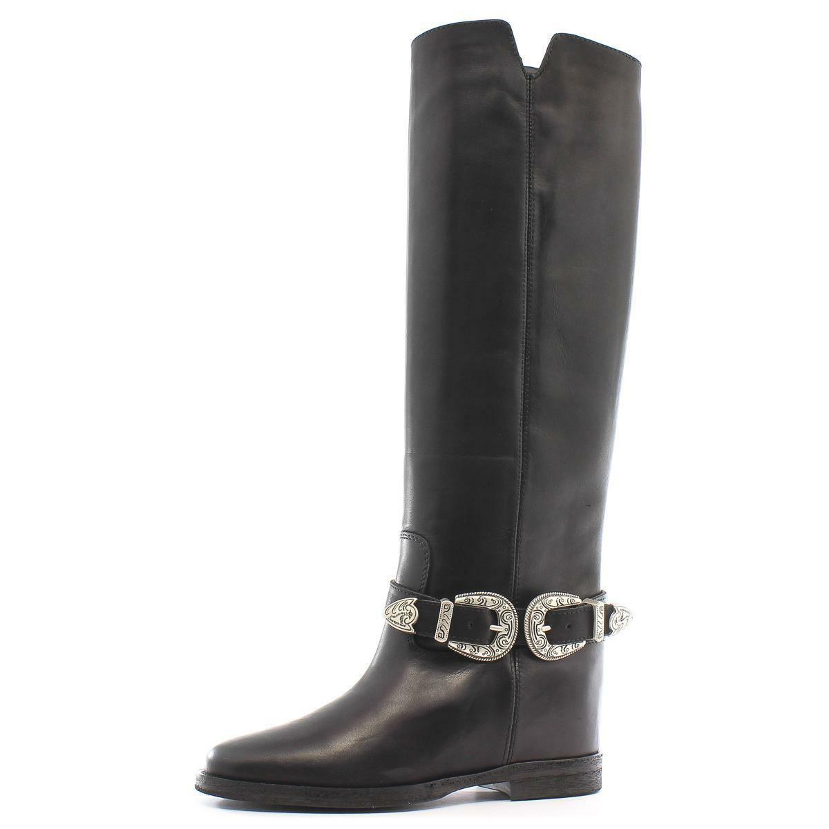Dettagli su My Heels by Via Roma 15 Stivale 2454 Saint Barth