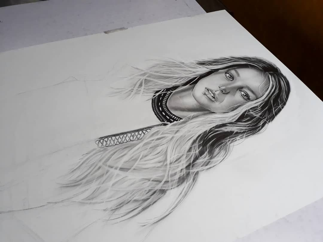Melissabenoist Art Drawing Supergirl Draw Female Sketch Art Drawings