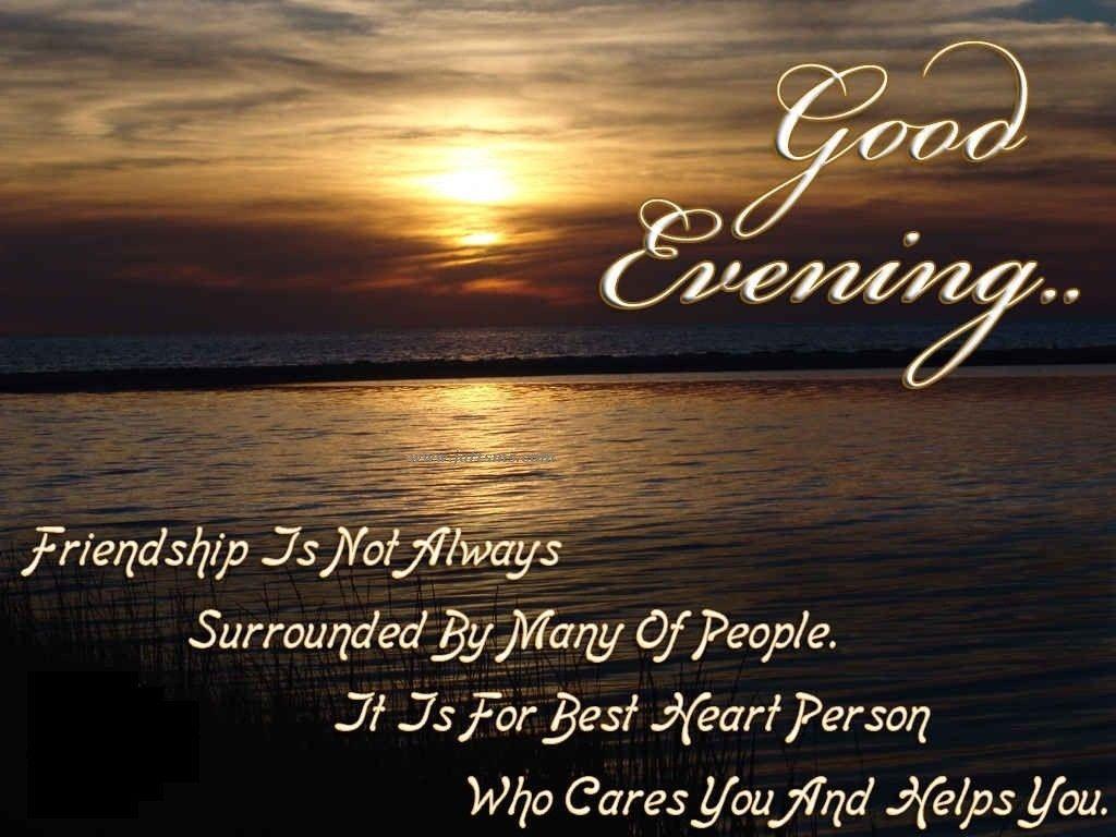 Открытки добрый вечер на английском