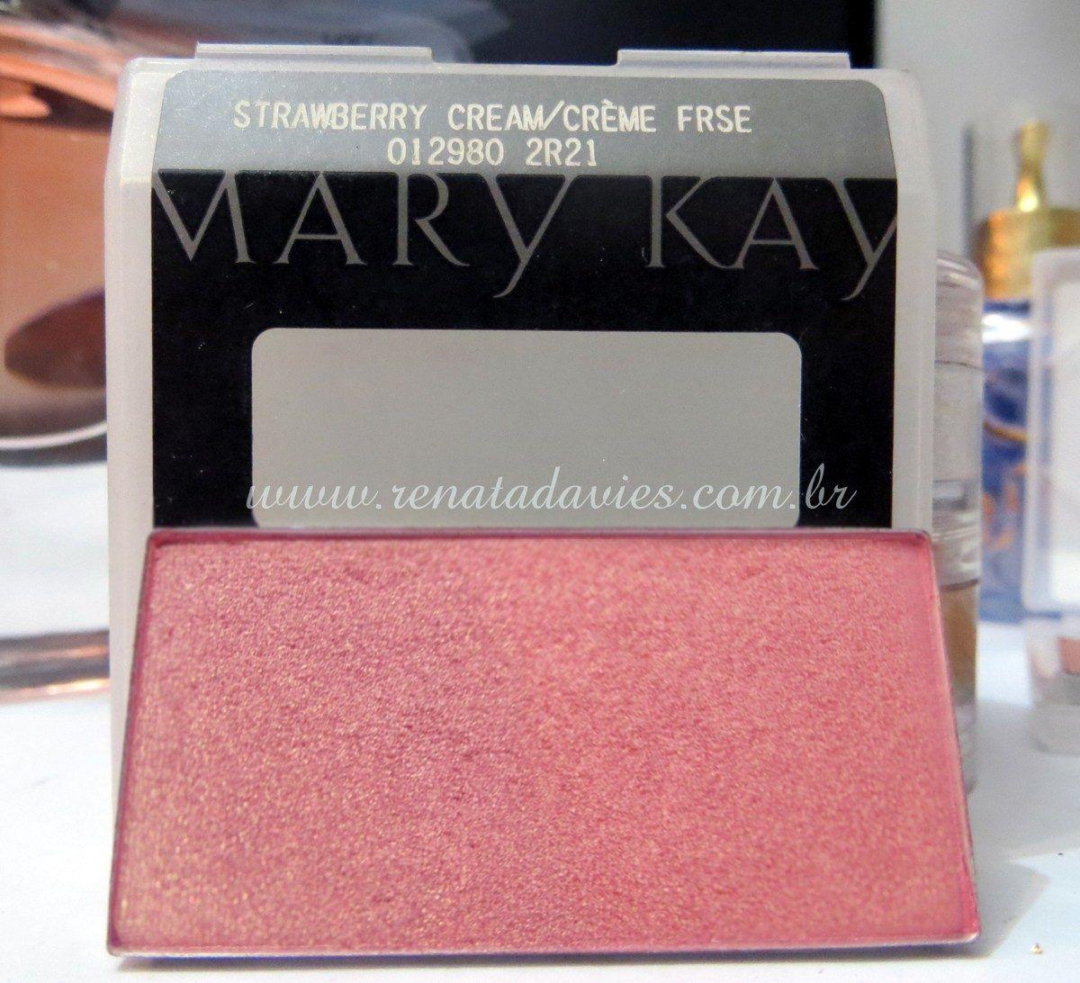 Mary Kay Mineral Cheek Color Strawberry Cream Com Imagens