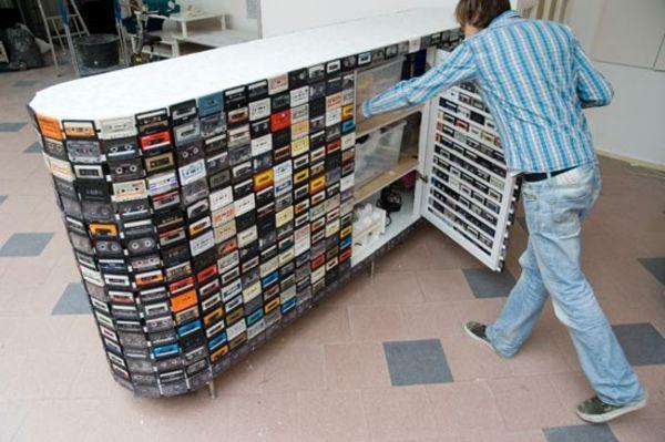 Ideen Zum Selber Machen 15 interessante handgemachte kassetten wiederverwendungen