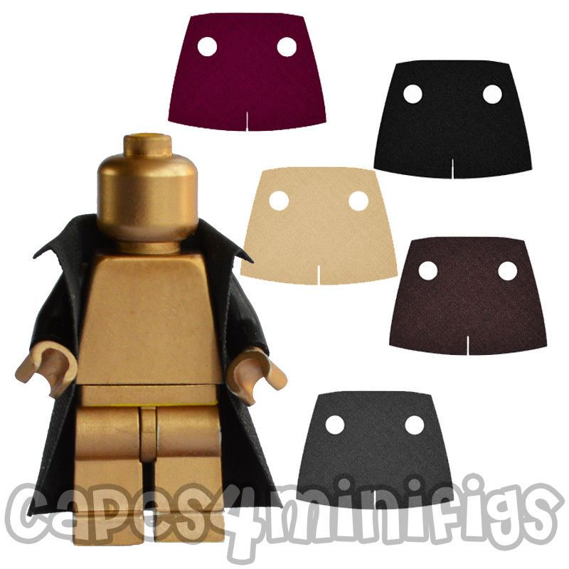 Pick 1 Color Custom Made To Fit Lego, Lego Minifigure Scale Trench Coat