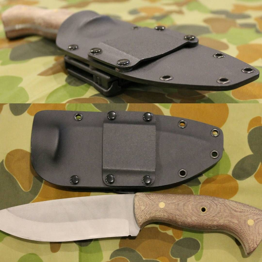 "Kydex Knife Sheath: ""Some Of My Latest Work. Has Tek-lok For Belt Attachment"
