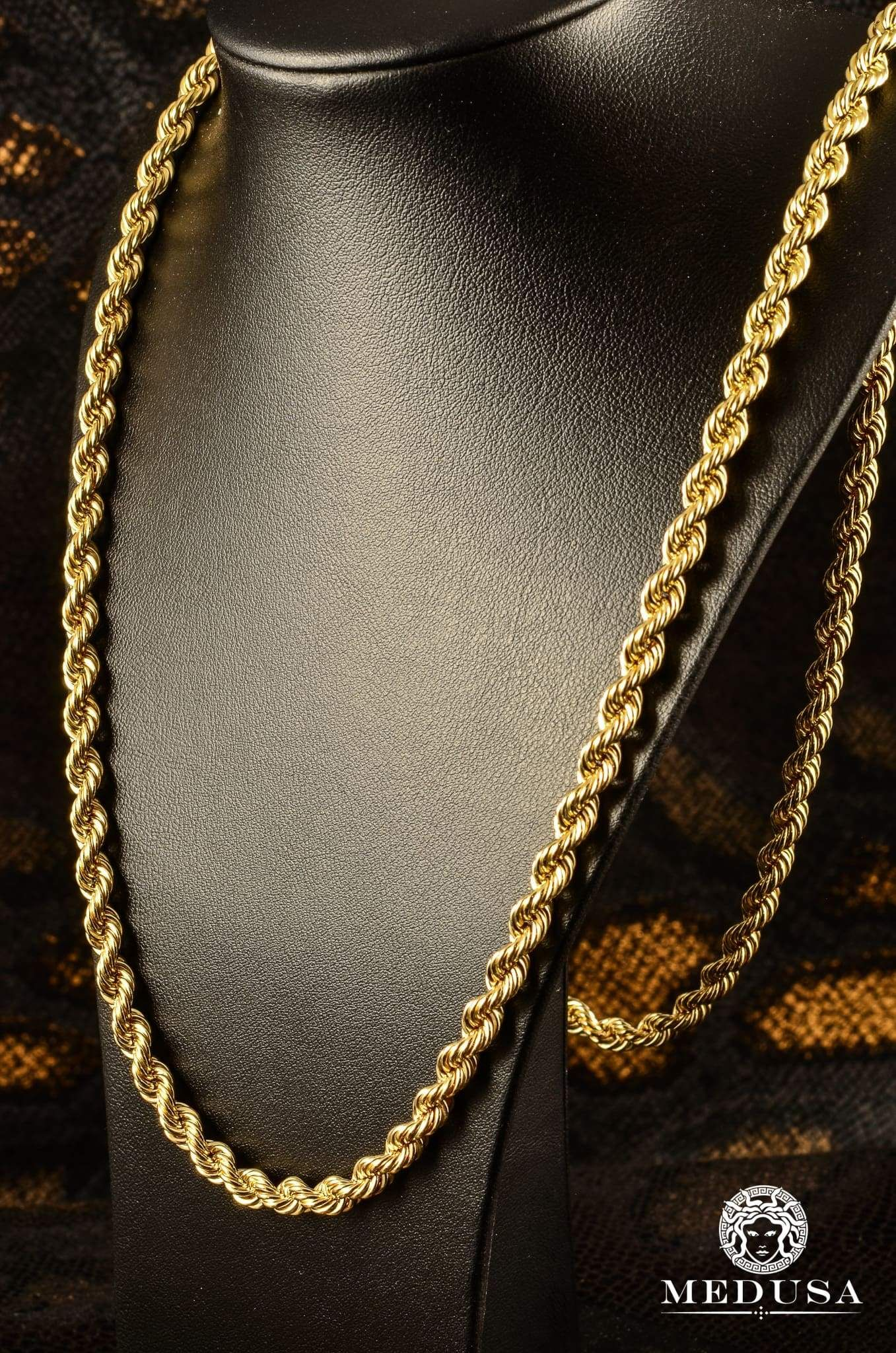 6mm Torsade Gold Chains For Men Gold Chain Jewelry Chain