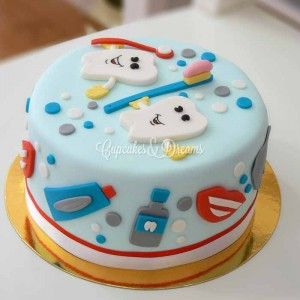 tarta odontologa tartas y galletas