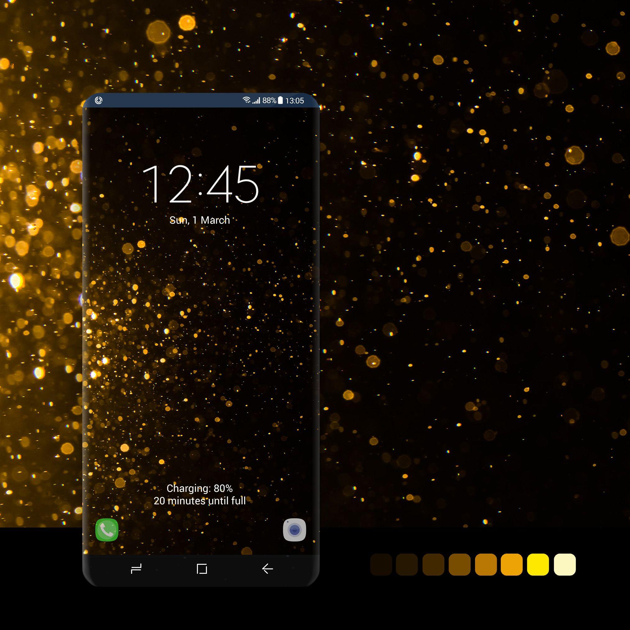 Gold Glitter Bokeh Samsung Wallpaper Samsung Galaxy Wallpaper Wallpaper Iphone Love