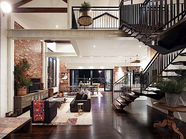 Stylische Wohnung Im Alten Lagerhaus In Melbourne Klonblog