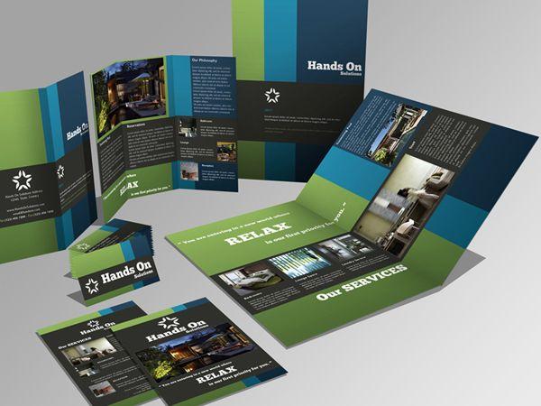 Interesting Brochure Design Graphic Design Pinterest Brochures