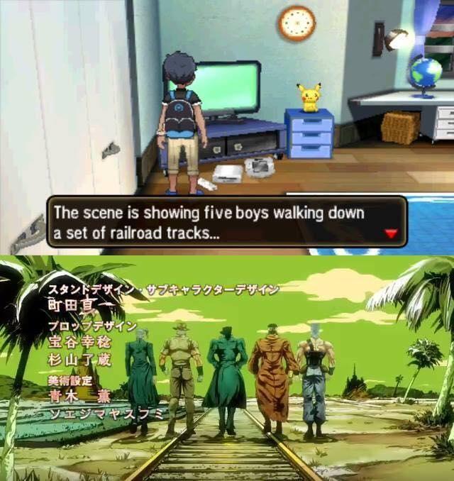 They Stand By Me Jojo Bizarre Jojo S Bizarre Adventure Jojo Memes